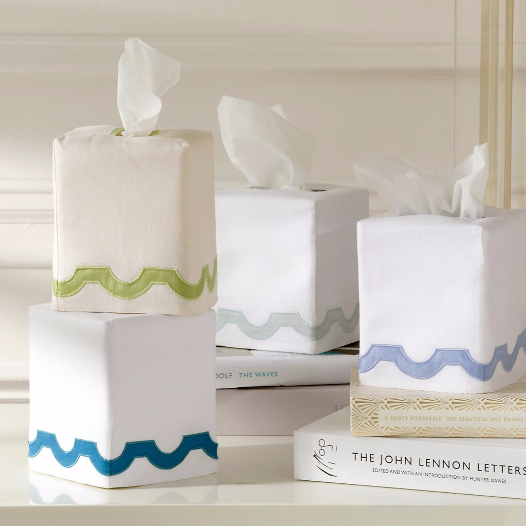 matouk mirasol tissue box cover