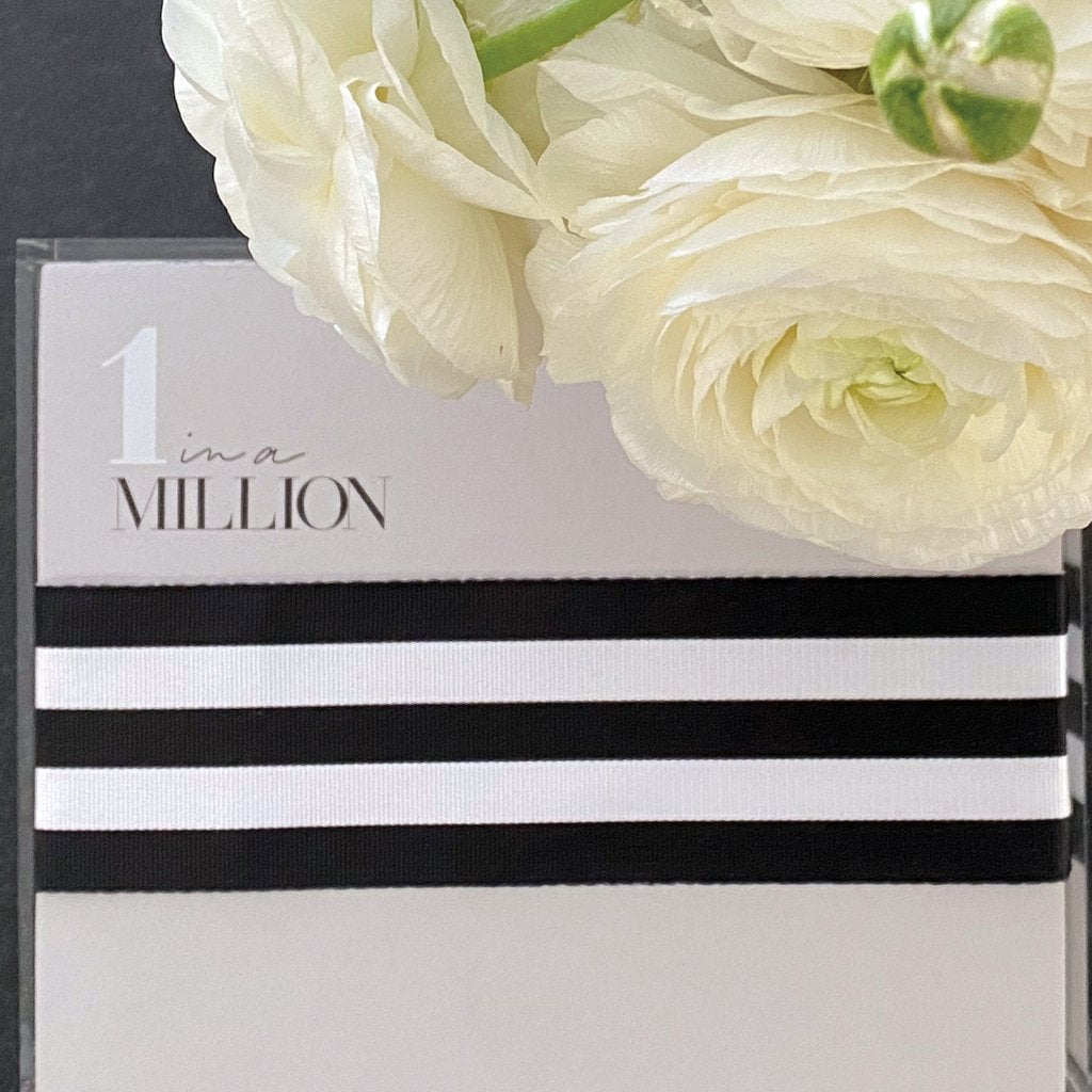 1 in a Million Gray Notepad