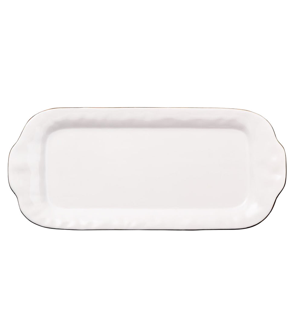 Skyros Designs Cantaria Rectangular Tray Large White