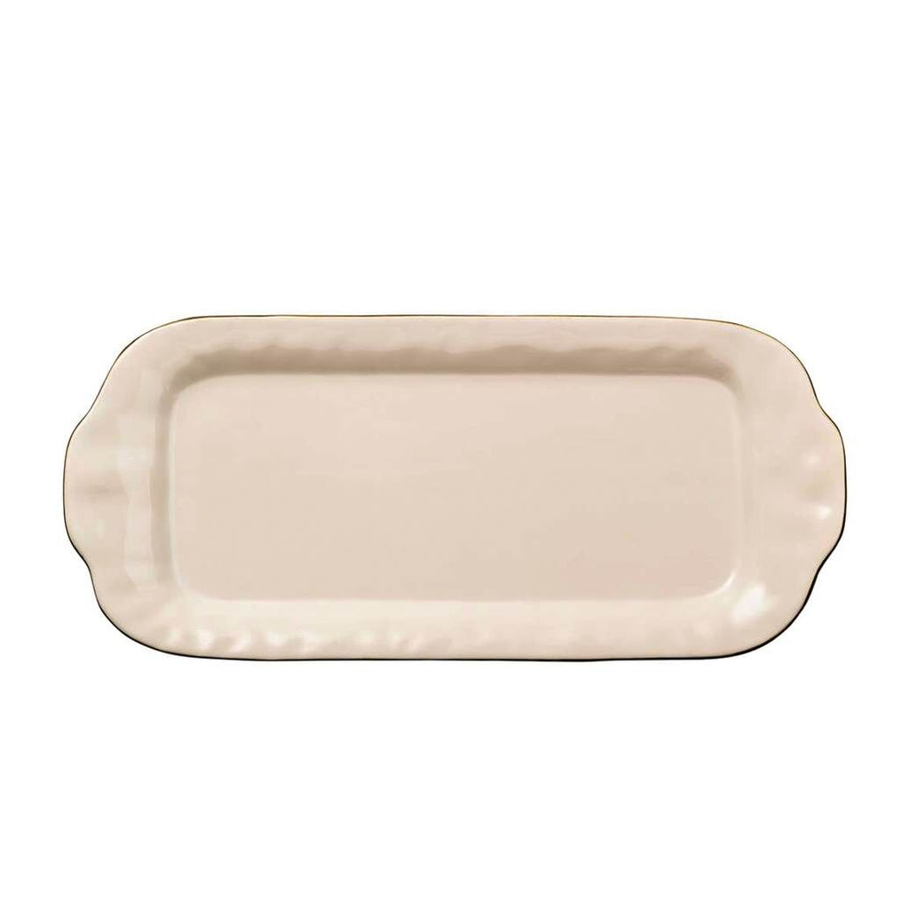 Skyros Designs Cantaria Rectangular Tray Ivory