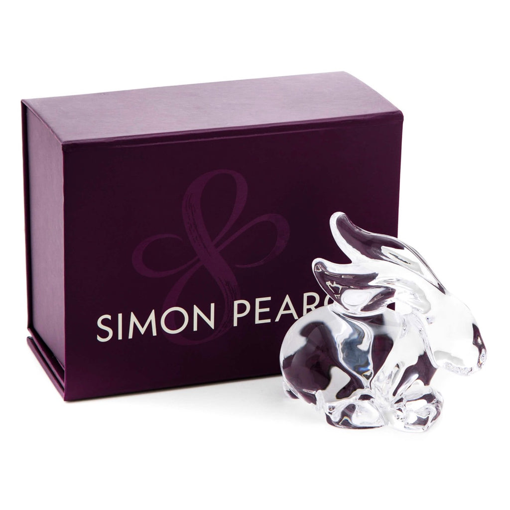 Simon Pearce Rabbit, In A Gift Box.