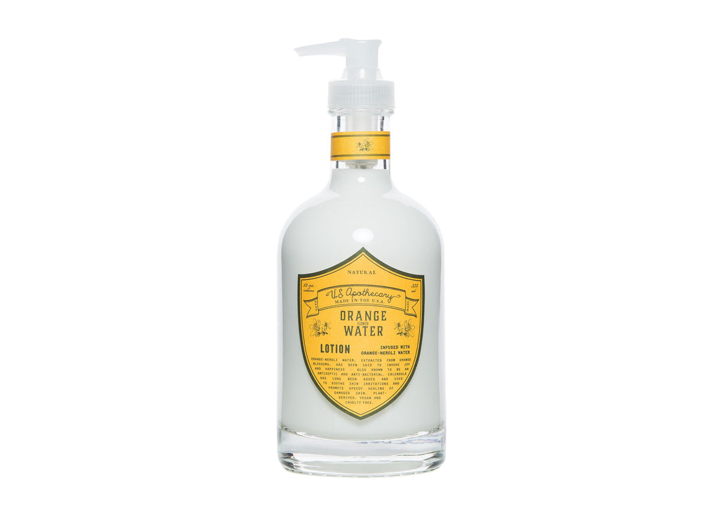 U.S. Apothecary Orange Water Hand & Body Lotion