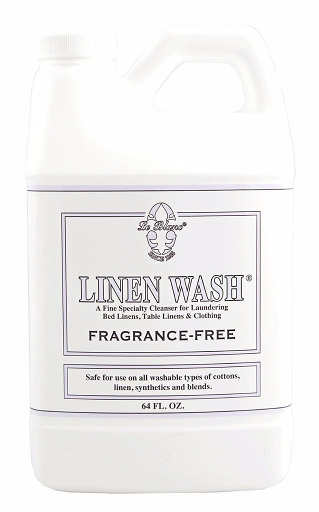 Le Blanc Linen Wash Fragrance Free 64 oz