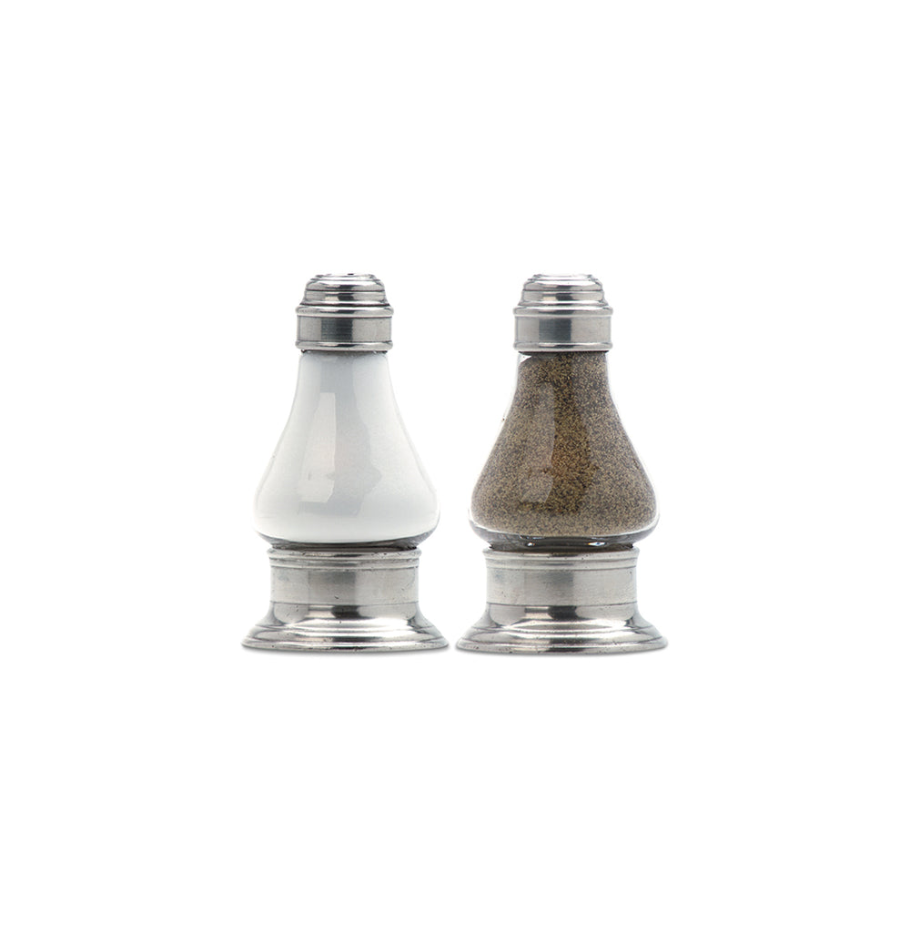 Match Pewter Siena Salt & Pepper Shaker Set