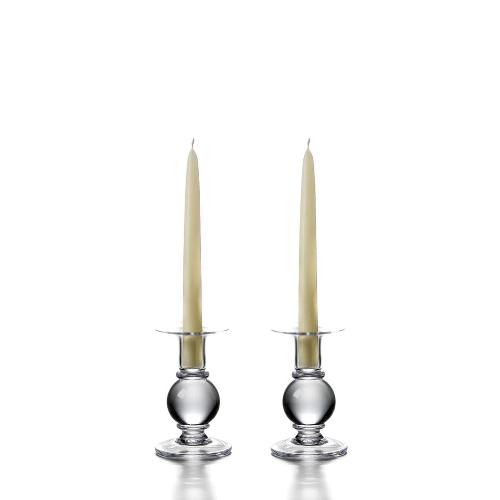 Simon Pearce Small Hartland Candlestick Pair
