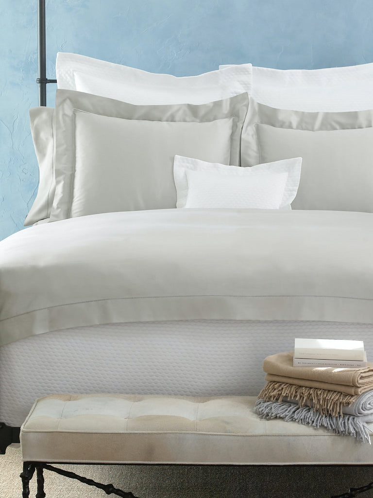 Nocturne Hemstitch Bedding Collection
