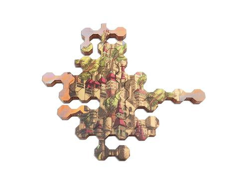 Ecru Puzzles - Aaron Wolf The Kingdom Wooden Jigsaw Puzzle