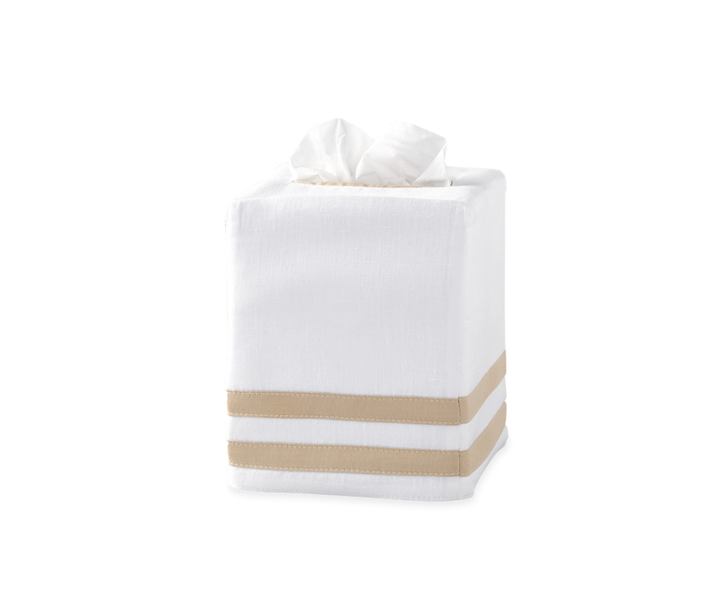Allegro Linen Tissue Box Cover