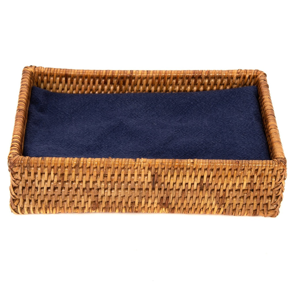 Artifacts Trading Company Rattan Guest Towel Rectangular Napkin Holder