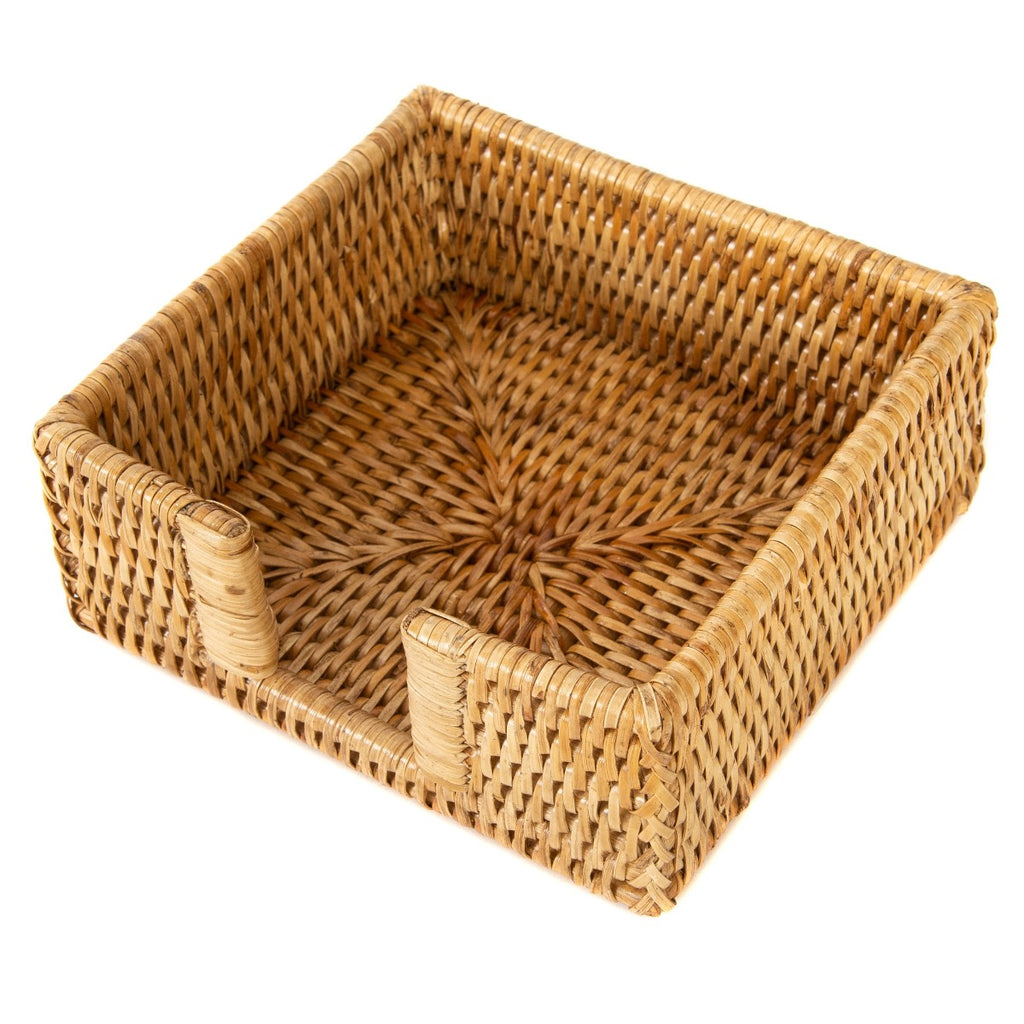 Artifacts Trading Company Rattan Cocktail Napkin Holder