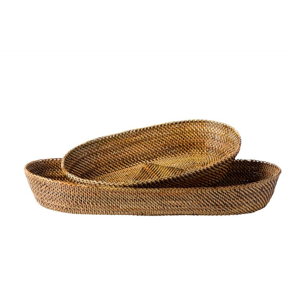 Oval Baguette Basket with Edging