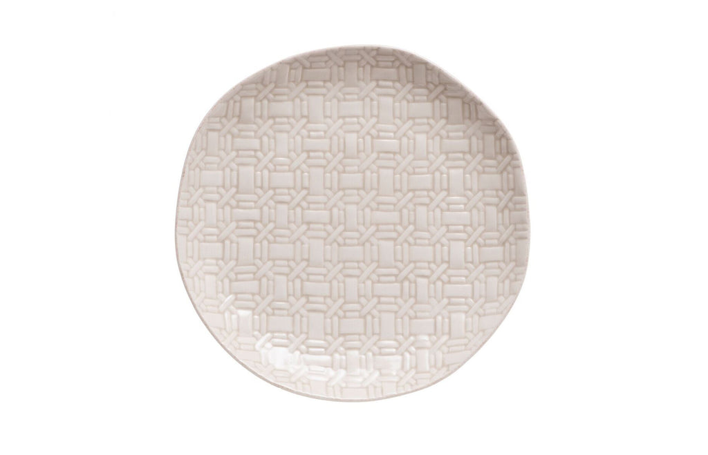 Cantaria Basket Weave Salad Plate