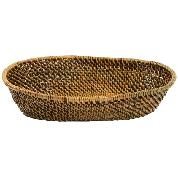 Calaisio Oval Woven Bread Basket with Tubes