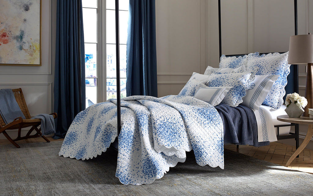 Lulu DK for Matouk Poppy Percale Bedding Collection