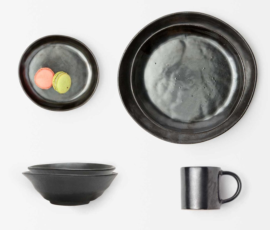 Marcus Black Glaze Dinnerware Collection