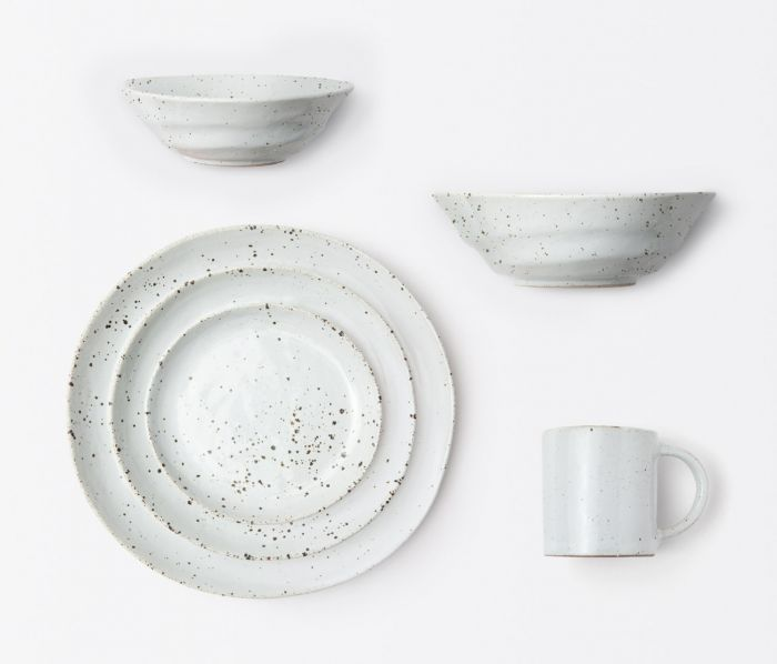 Marcus White Salt Dinnerware Collection