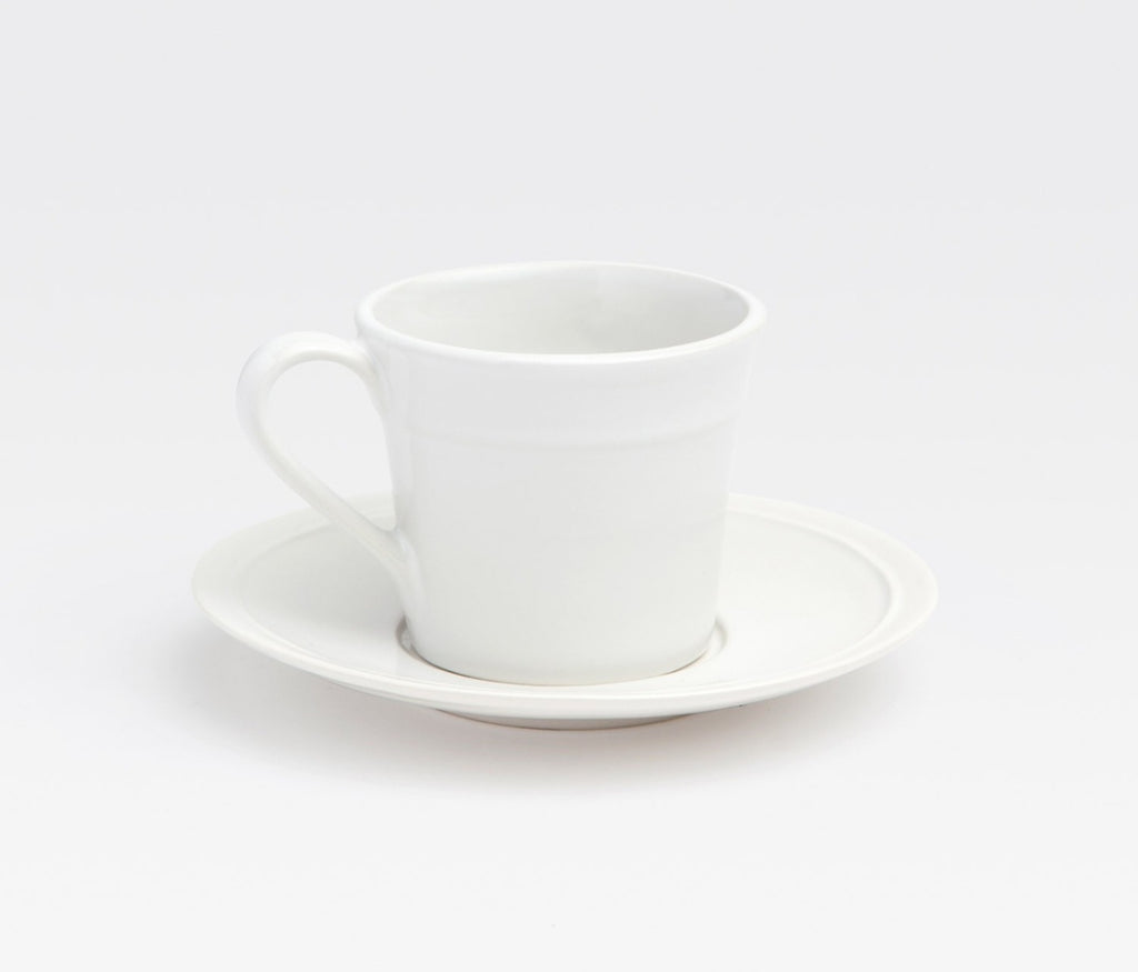 Ariana White Dinnerware Collection