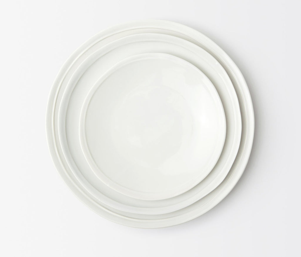 Blue Pheasant Ariana White Dinnerware Collection