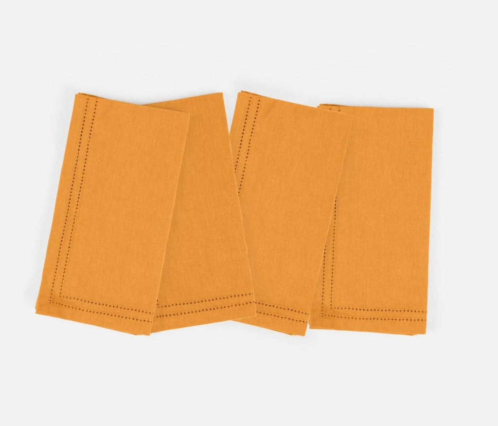 Betty Marigold Cotton Napkin Set