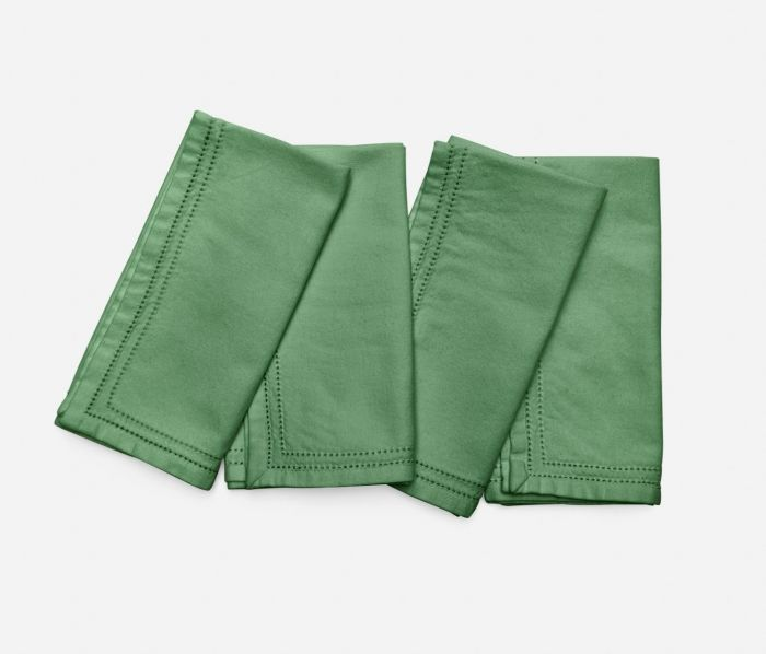 Betty Ivy Green Cotton Napkin Set