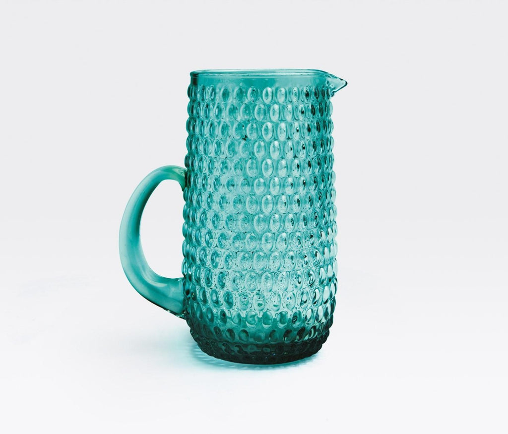 Blue Pheasant Claire Teal Pitcher