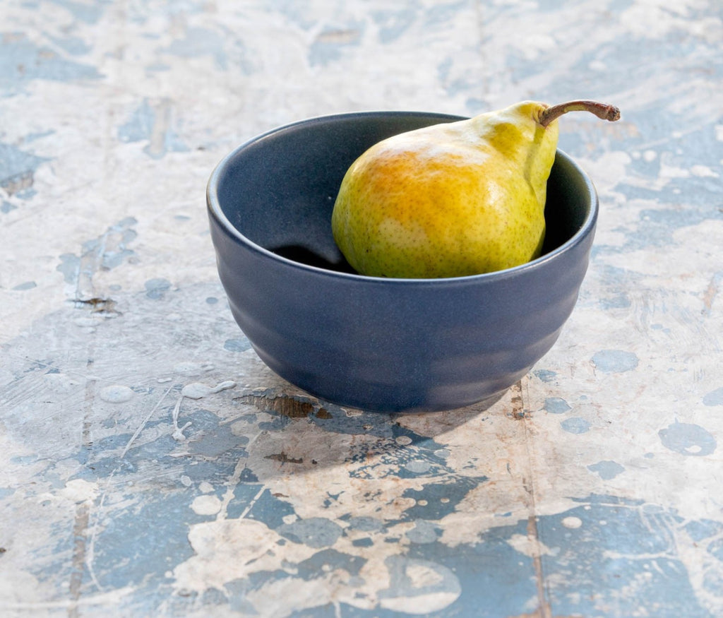 Blue Pheasant Matte Navy Hayes Cereal Bowl