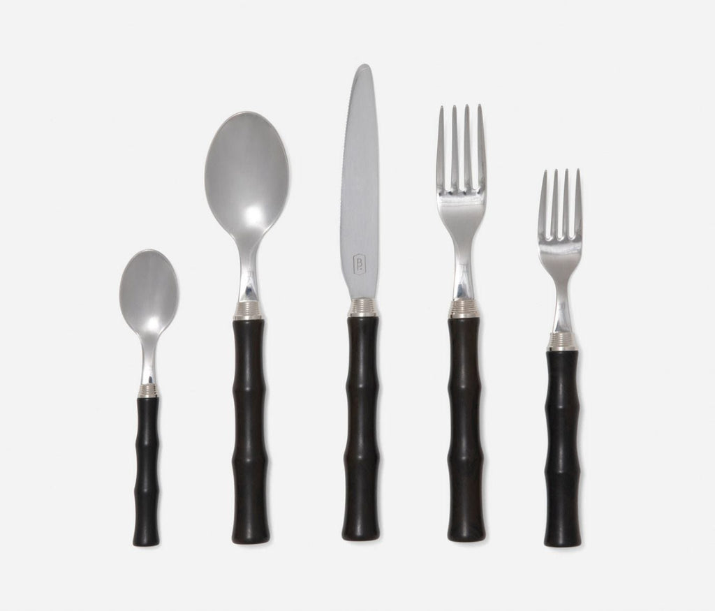 Montecito Dark Brown Flatware Setting by Mark D. Sikes