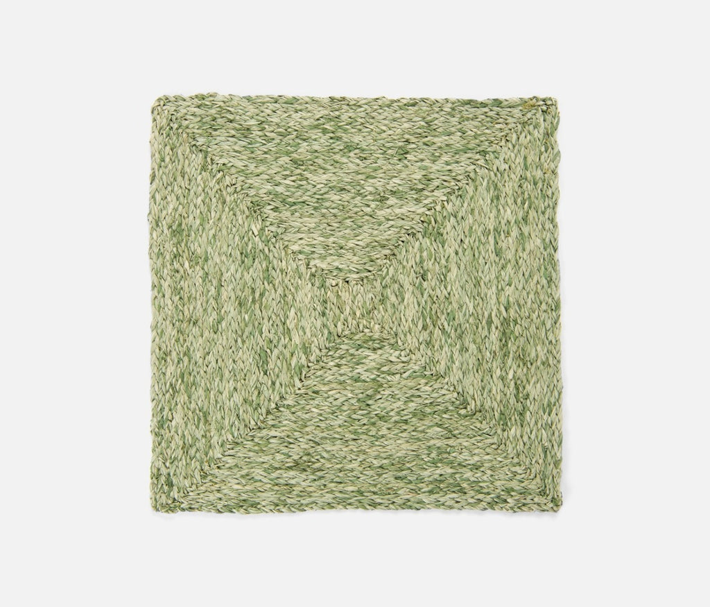 Zoey Raffia Placemat in Pale Green