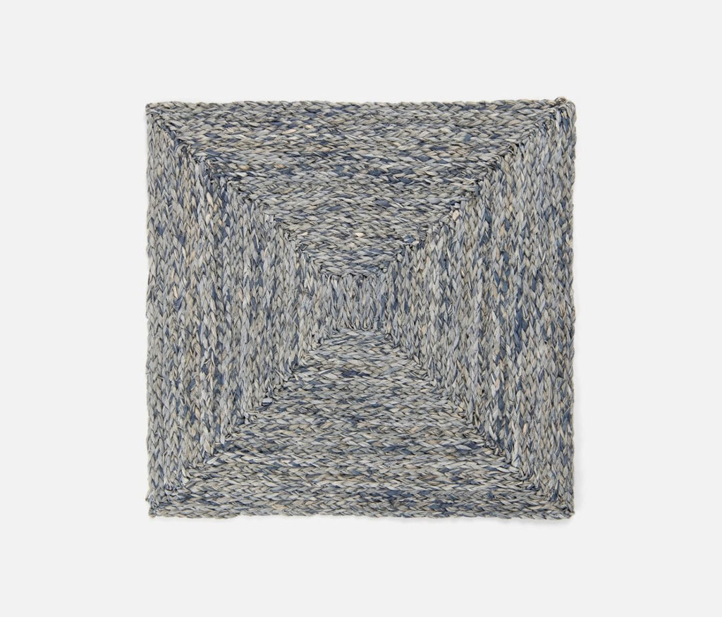 Zoey Raffia Placemat in Slate Blue