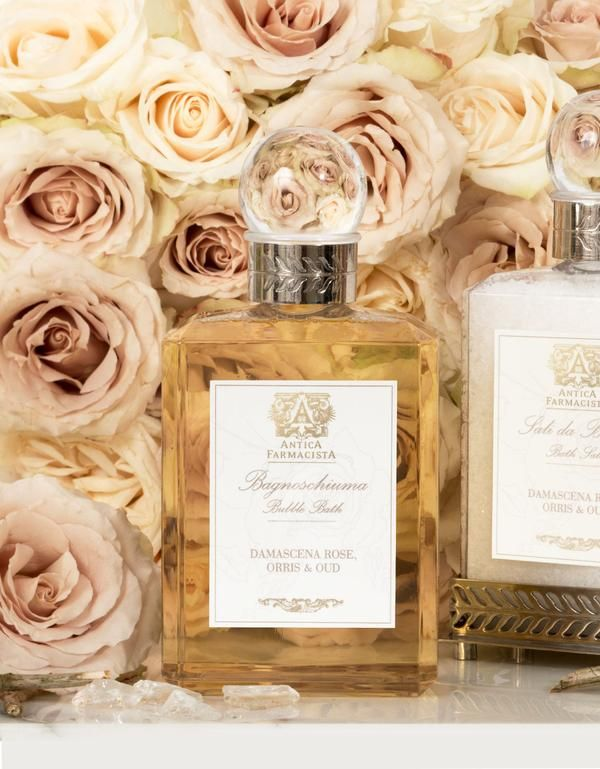 Damascena Rose, Orris & Oud Bubble Bath