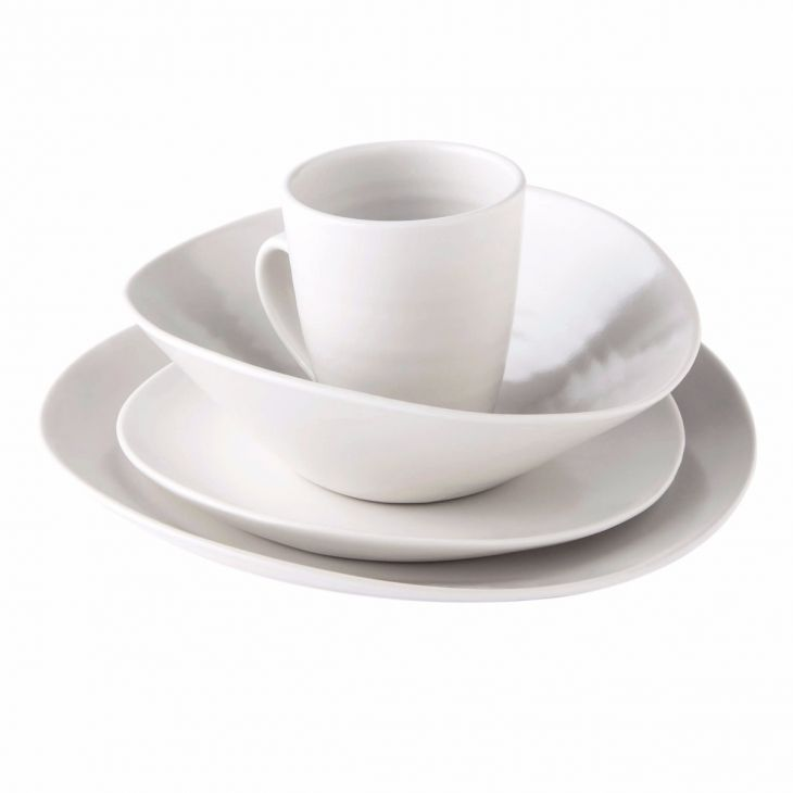 Simon Pearce Barre 4 piece cereal bowl place setting