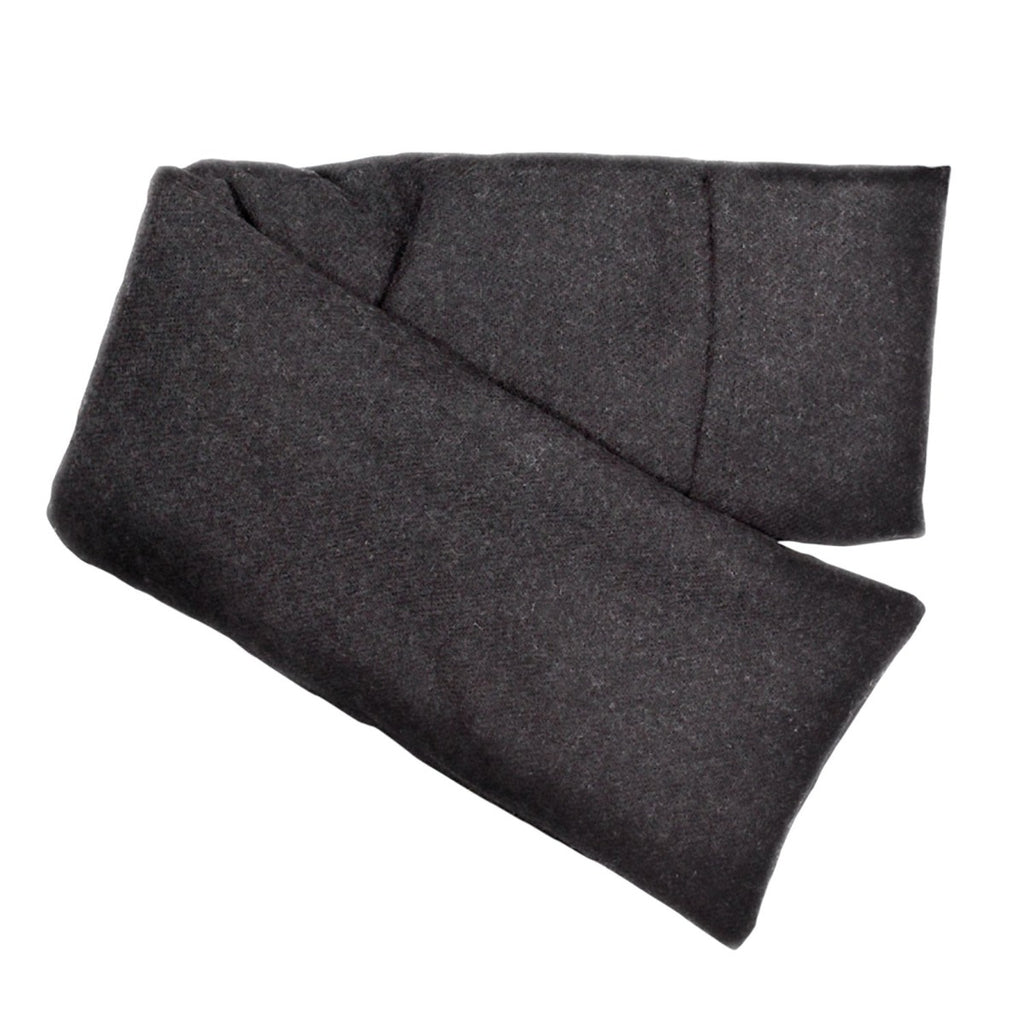 elizabeth W Wool Hot/Cold Flaxseed Pack - Charcoal Gray