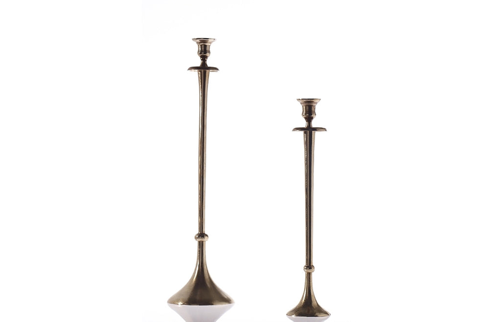 Accent Decor Devote Candlestick Pair