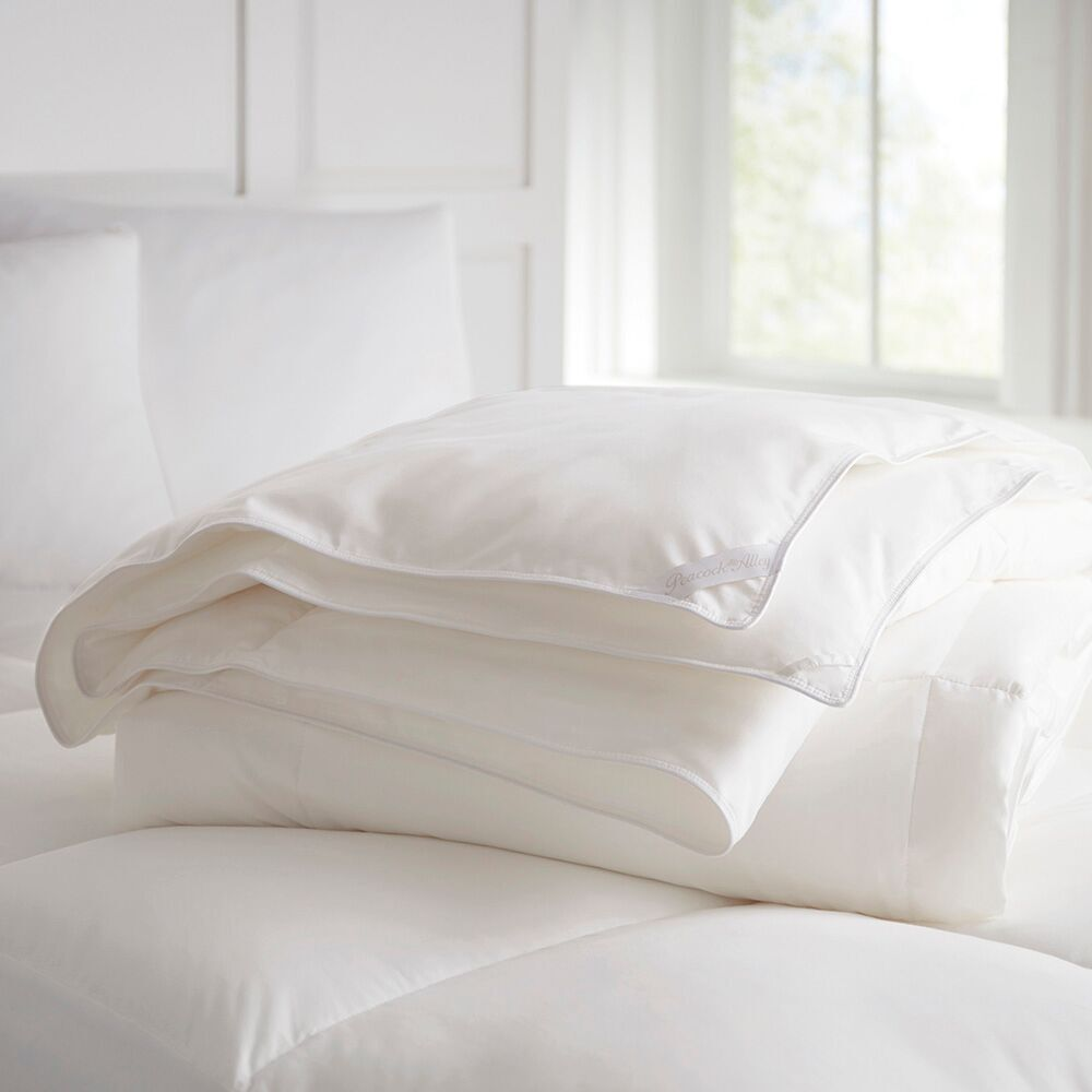 Peacock Alley Sleep Well European White Goose Down Comforters