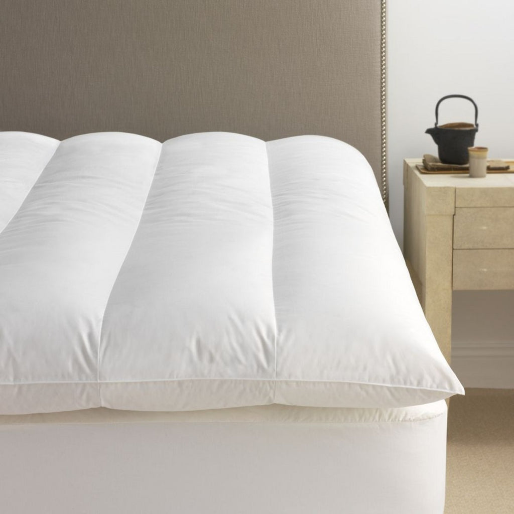 Scandia Home European White Goose Down Featherbed