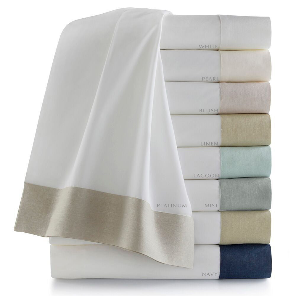 Peacock Alley Mandalay Cuff Bedding Collection