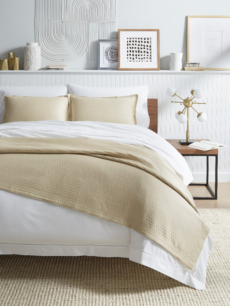Sferra Favo Matelassé Bedding Collection