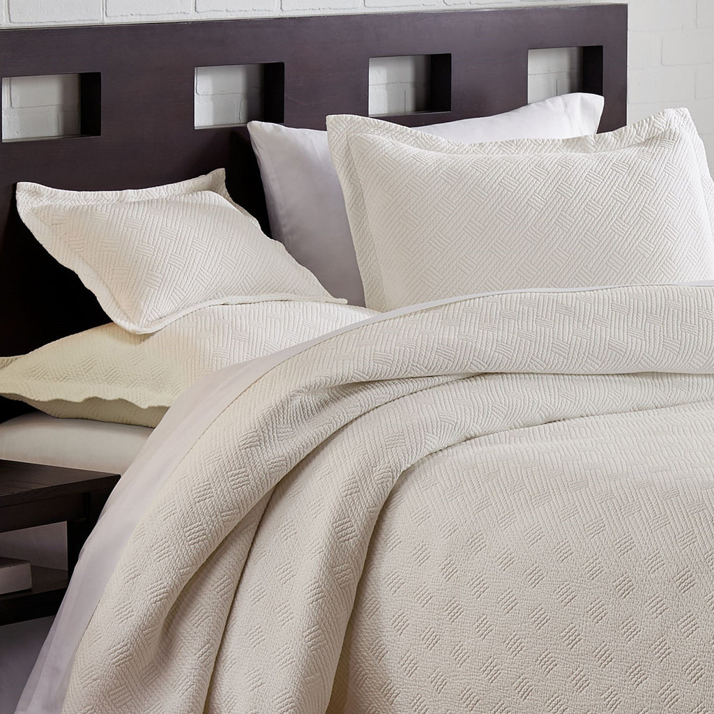 Traditions Linens Flynn Stonewashed Matelassé Bedding Collection