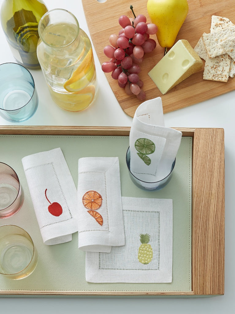 Sferra Frutta Cocktail Napkin Set
