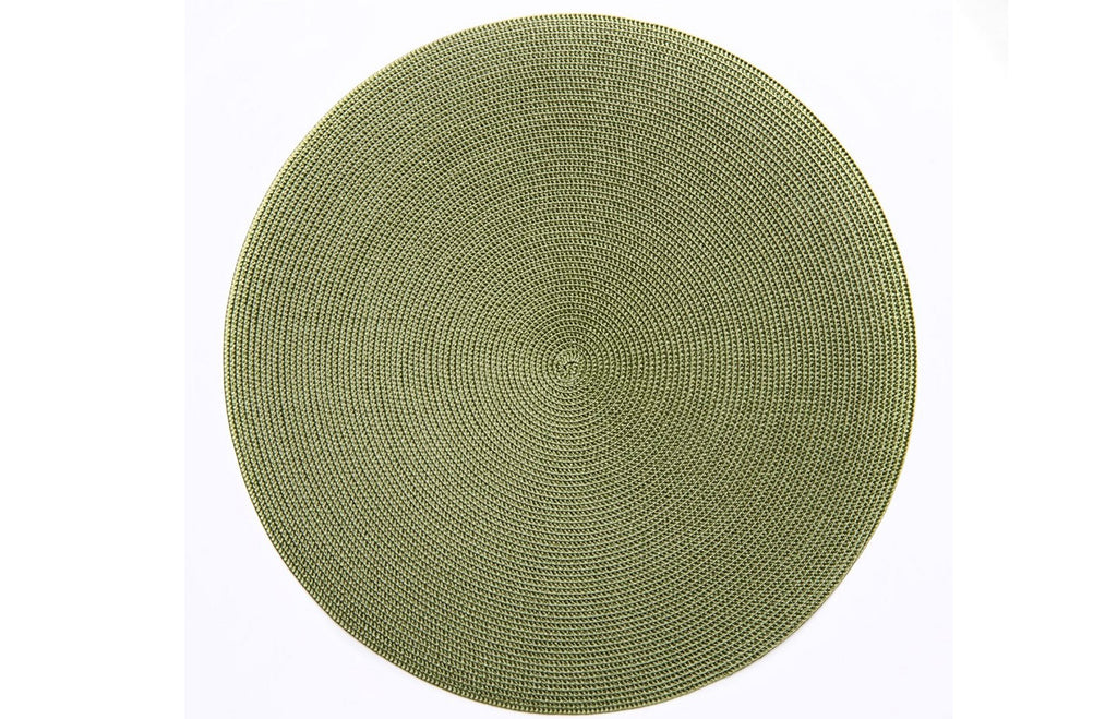 Linen Braid Placemat - Grass