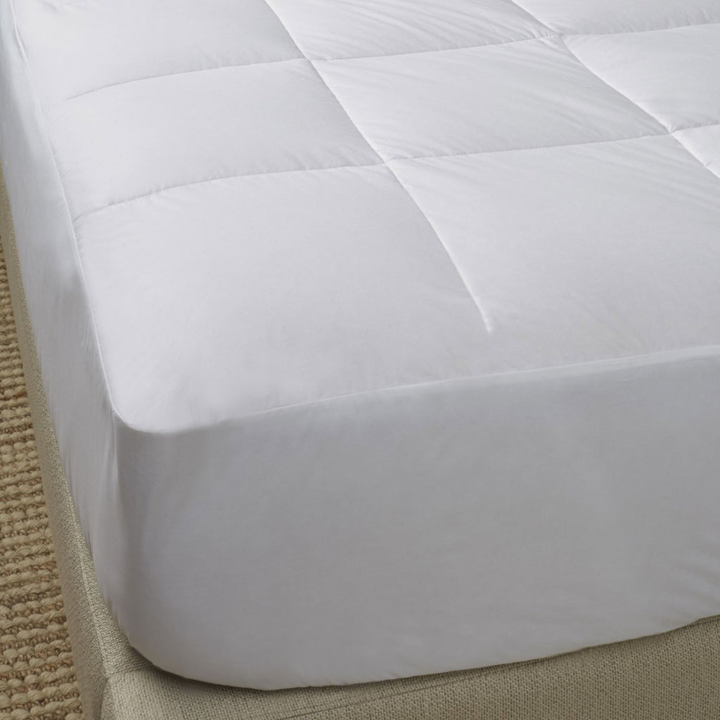 Scandia Home European White Goose Down Filled Mattress Pad