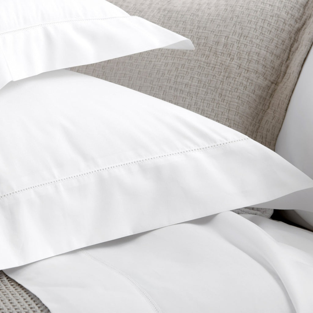 Matouk Milano Hemstitch Bedding Collection