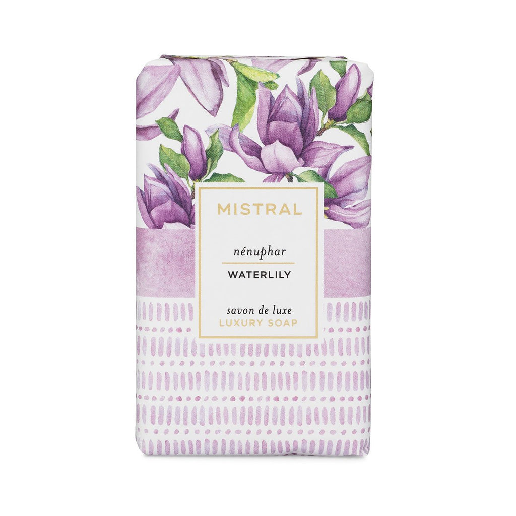 Mistral Papiers Fantaisie Waterlily Bar Soap
