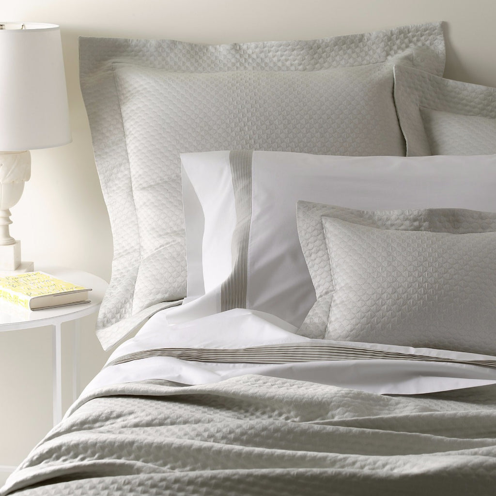 Matouk Pearl Matelassé Bedding Collection