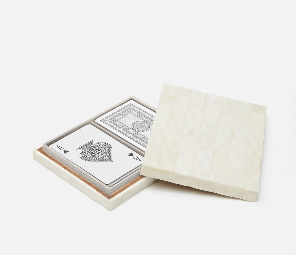 PIgeon & Poodle Tremain Natural Bone Card Set