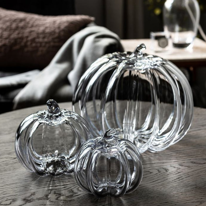 Glass Pumpkin Collection
