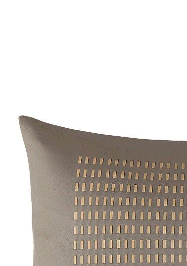 Rani Arabella Duke Leather Braided Pillow