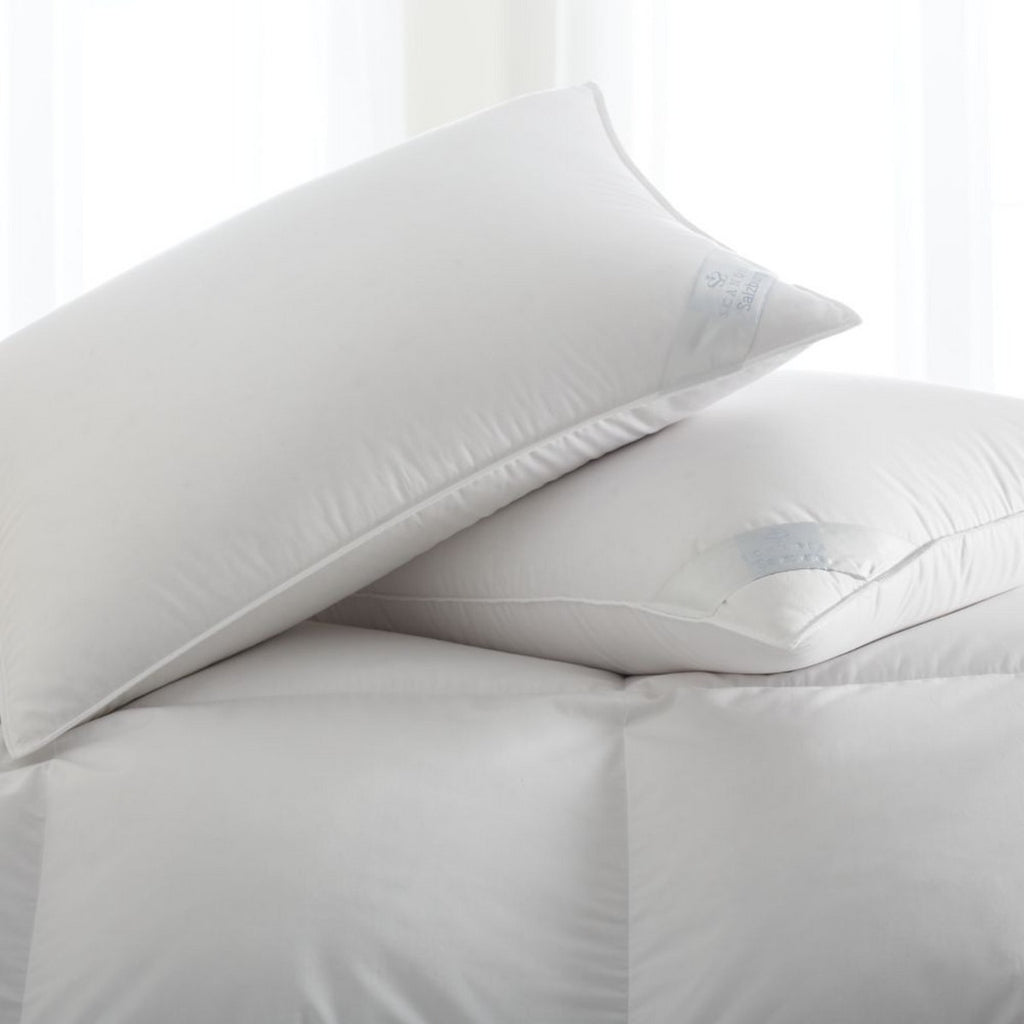 Scandia Home Salzburg Polish White Goose Down Pillow