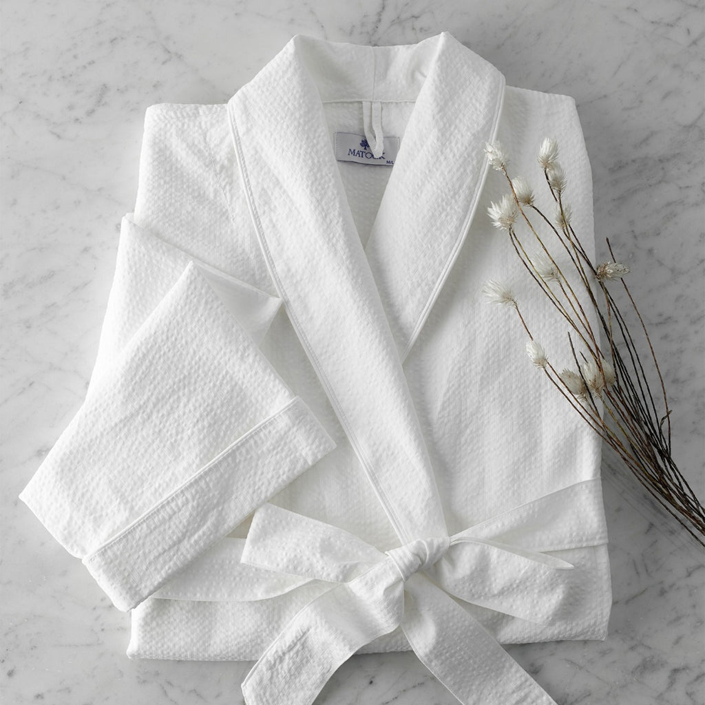 Matouk Seersucker Bath Robe