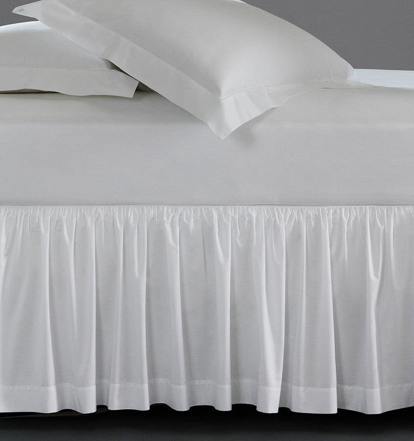 Sferra Simply Celeste Gathered Bed Skirt